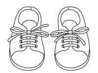 coloring picture shoes printable kids shoes colouring pages for kids to print coloring picture shoes