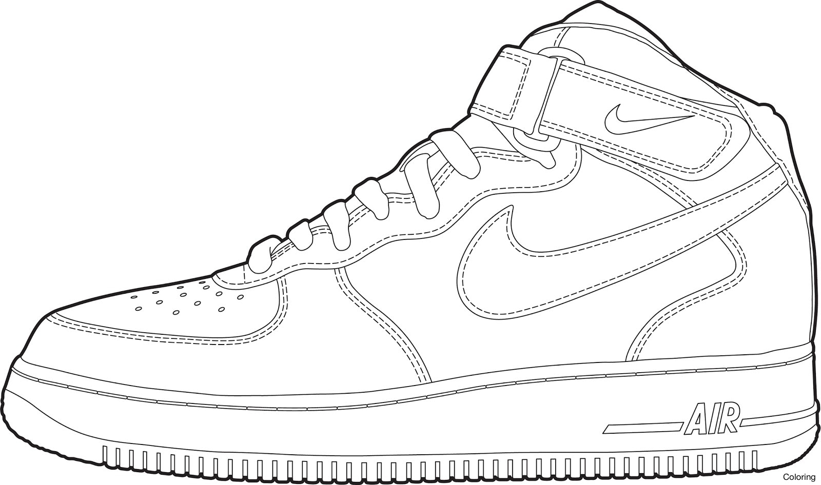 coloring picture shoes shoes coloring pages getcoloringpagescom coloring shoes picture