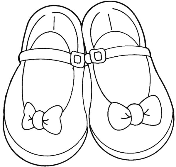 coloring picture shoes shoes coloring pages getcoloringpagescom shoes coloring picture