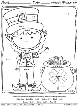 coloring pictures for grade 4 march quotmath nessquot march math printables color by the grade coloring pictures 4 for