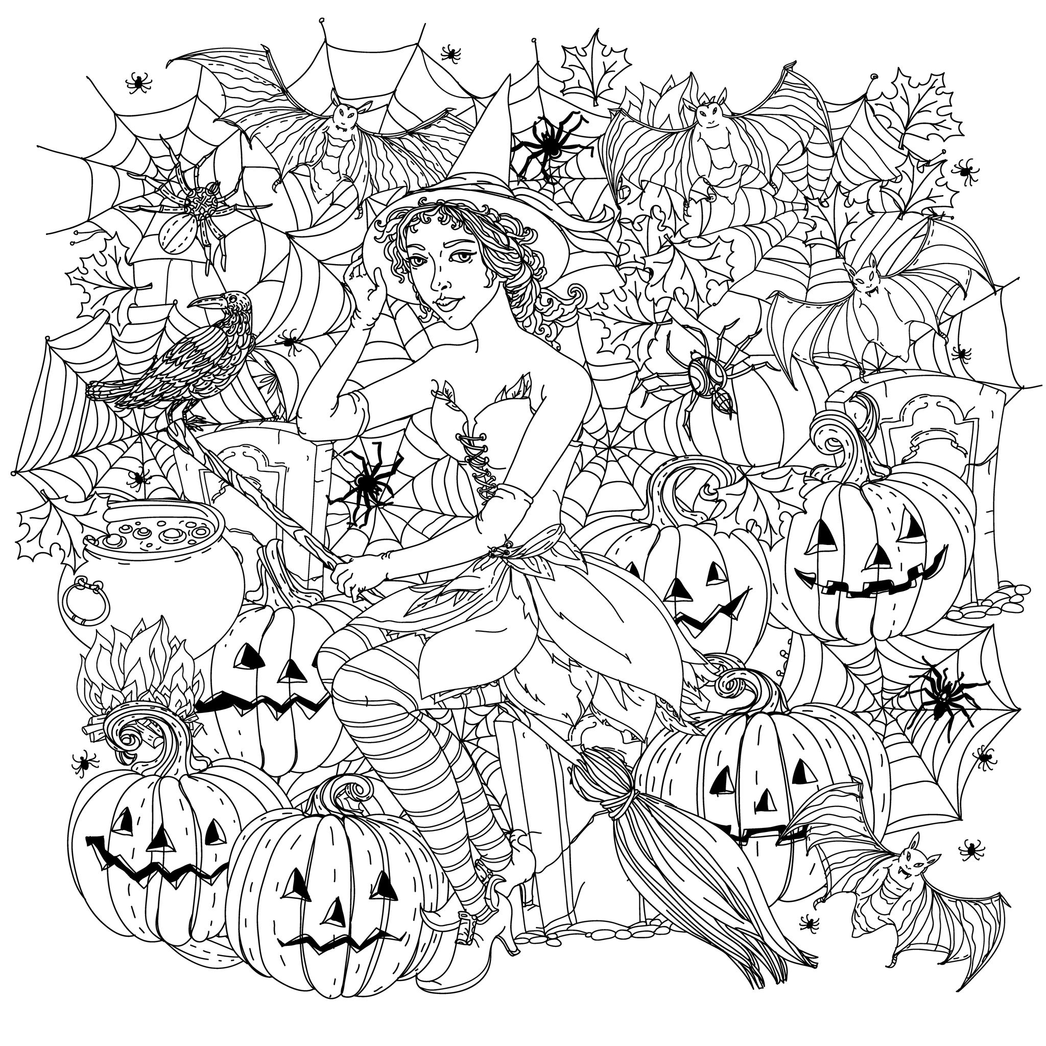 coloring pictures for halloween coloring hallow holics anonymous pictures coloring for halloween