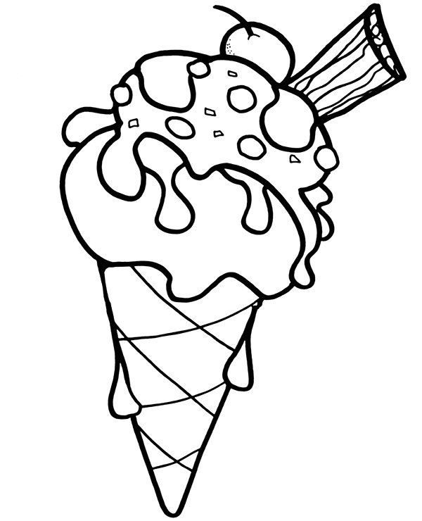 coloring pictures ice cream ice cream cone coloring pages for children to download coloring pictures cream ice