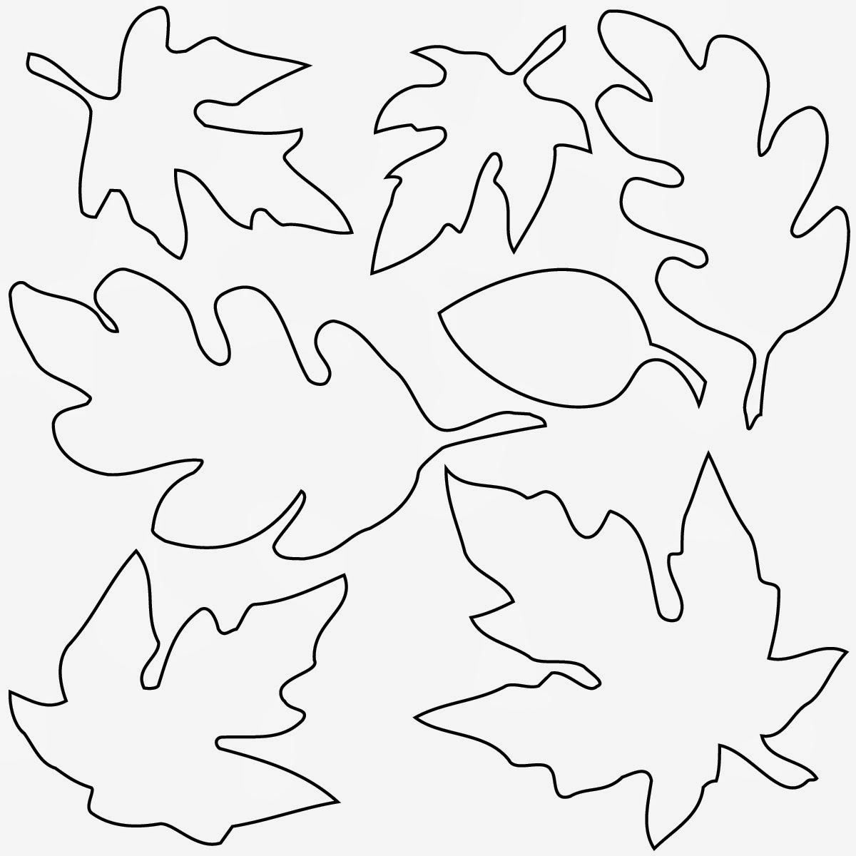 coloring pictures leaves autumn oak leaf coloring page leaves coloring pictures