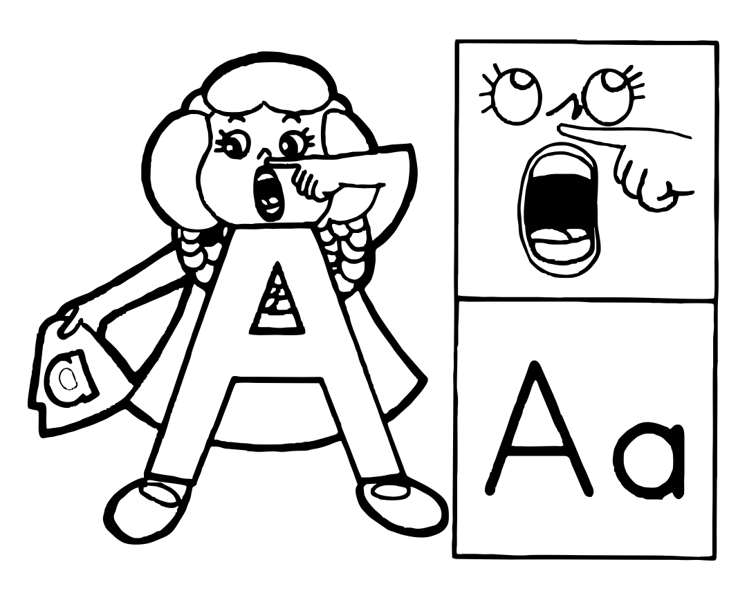 coloring pictures letter a a z alphabet coloring pages download and print for free pictures letter a coloring