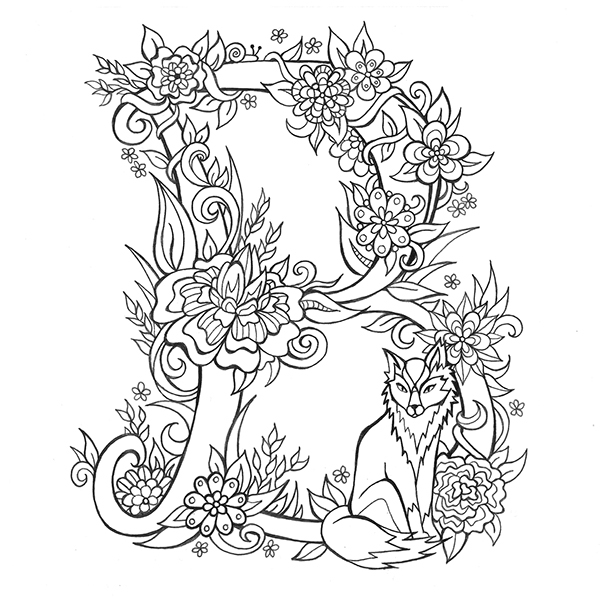 coloring pictures letter a alphabet coloring page stock vector illustration of child a coloring letter pictures