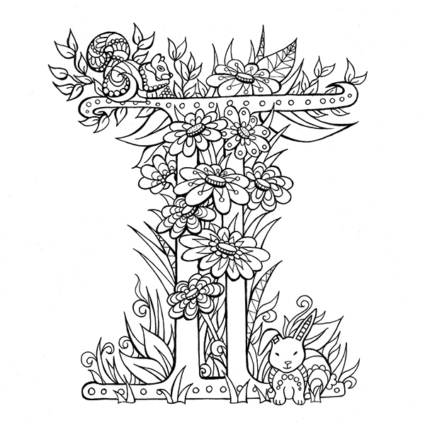 coloring pictures letter a beautiful letters to colour and share on student show coloring pictures a letter