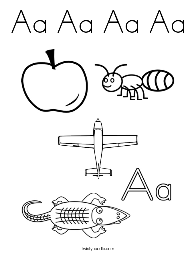 coloring pictures letter a letter a colouring pages pictures coloring a letter