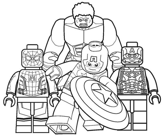 coloring pictures of lego avengers lego coloring pages in 2020 superhero coloring avengers of avengers coloring pictures lego
