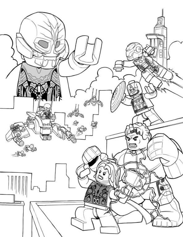 coloring pictures of lego avengers lego marvel coloring pages coloring page marvel coloring of lego avengers pictures