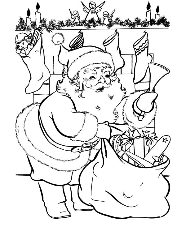 coloring pictures of santa claus coloring pages santa claus coloring pages free and printable of claus coloring santa pictures