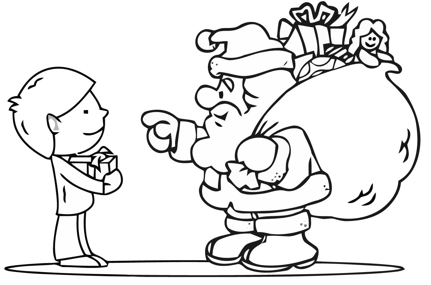 coloring pictures of santa claus free christmas colouring pages for children kids online santa claus pictures coloring of