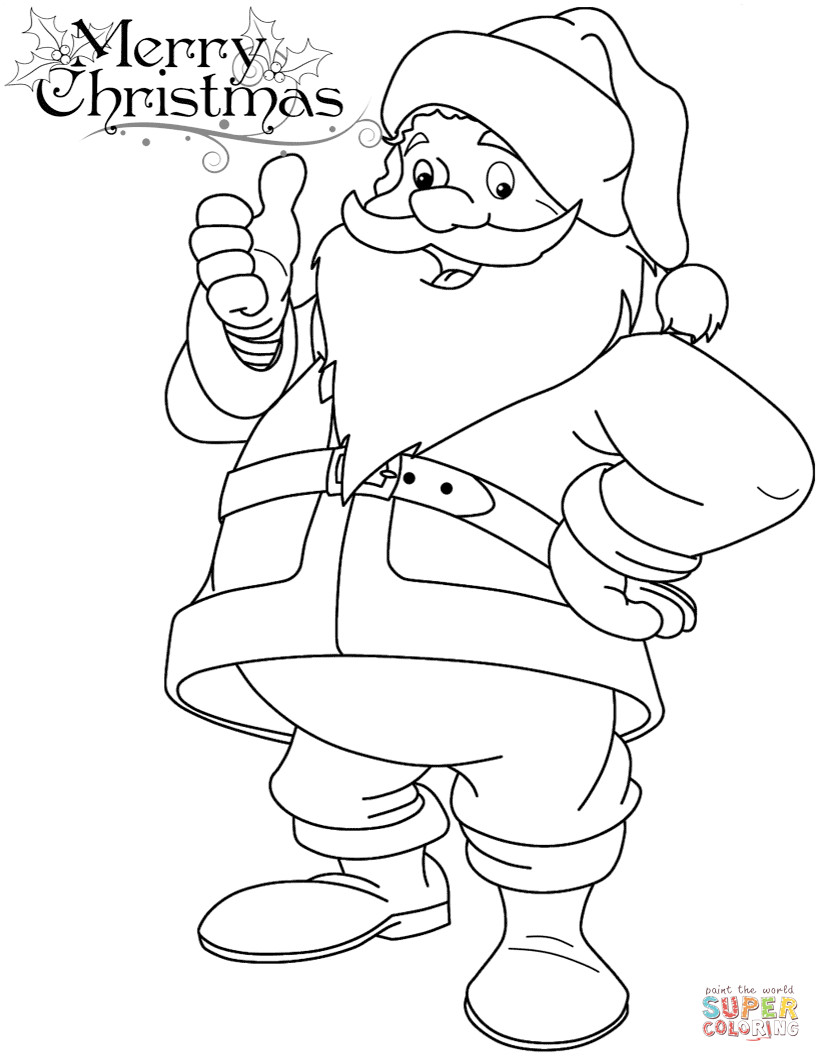 coloring pictures of santa claus santa claus coloring pages to download and print for free santa of coloring claus pictures