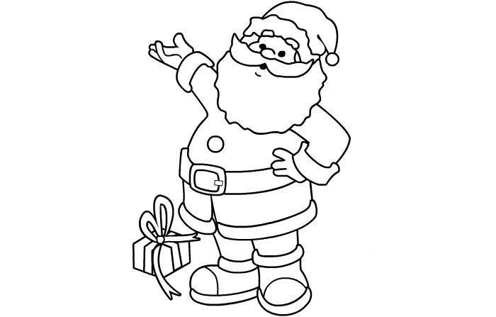 coloring pictures of santa claus santa claus face pictures free download on clipartmag claus pictures of coloring santa