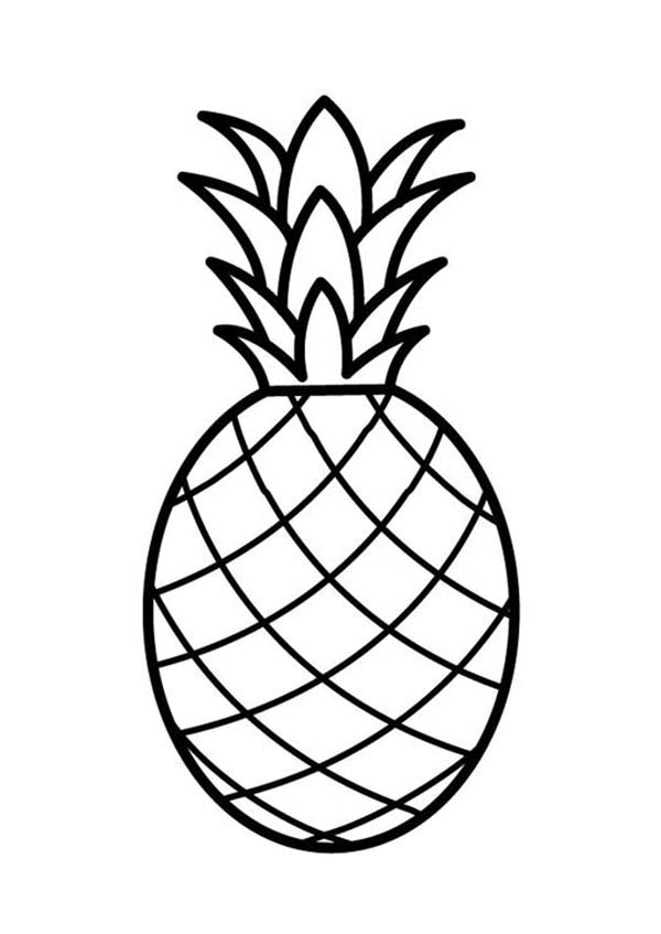 coloring pineapple pineapple coloring pages coloring pages to download and coloring pineapple