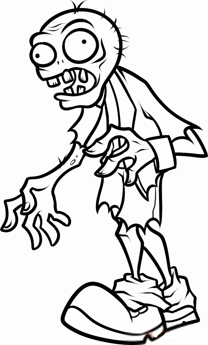 coloring plant vs zombie pictures printable plants vs zombies coloring pages coloring home coloring zombie vs pictures plant