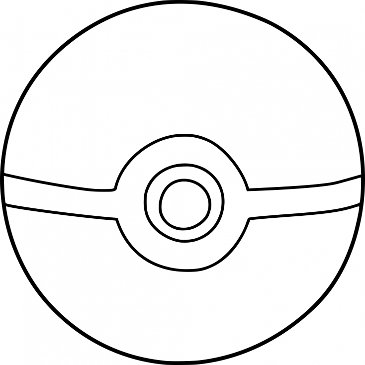 coloring pokemon ball 4 best images of printable pokemon ball pokemon pokeball coloring pokemon ball