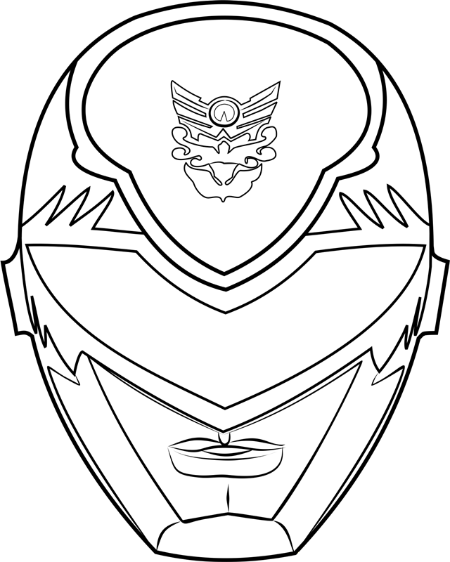coloring power ranger mask power rangers time force coloring pages google search mask power coloring ranger