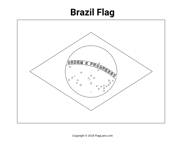 coloring printable brazil flag brazil coloring pages to download and print for free flag brazil coloring printable