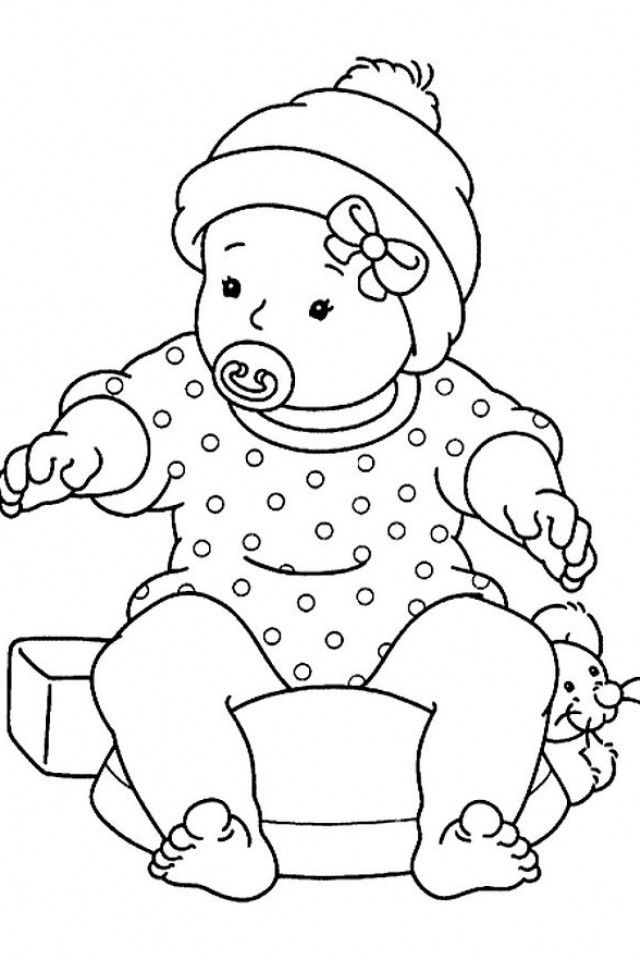 coloring printouts for girls baby girl coloring pages coloring home girls printouts coloring for