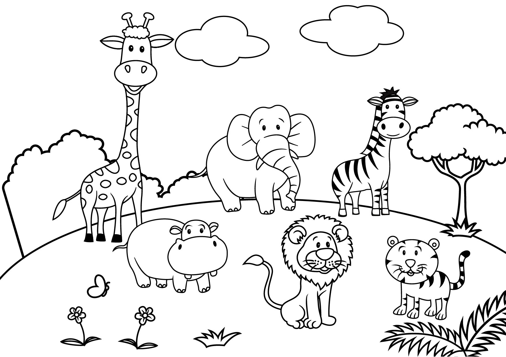 coloring scenery for kids beautiful scenery colouring pages in the playroom kids scenery for coloring