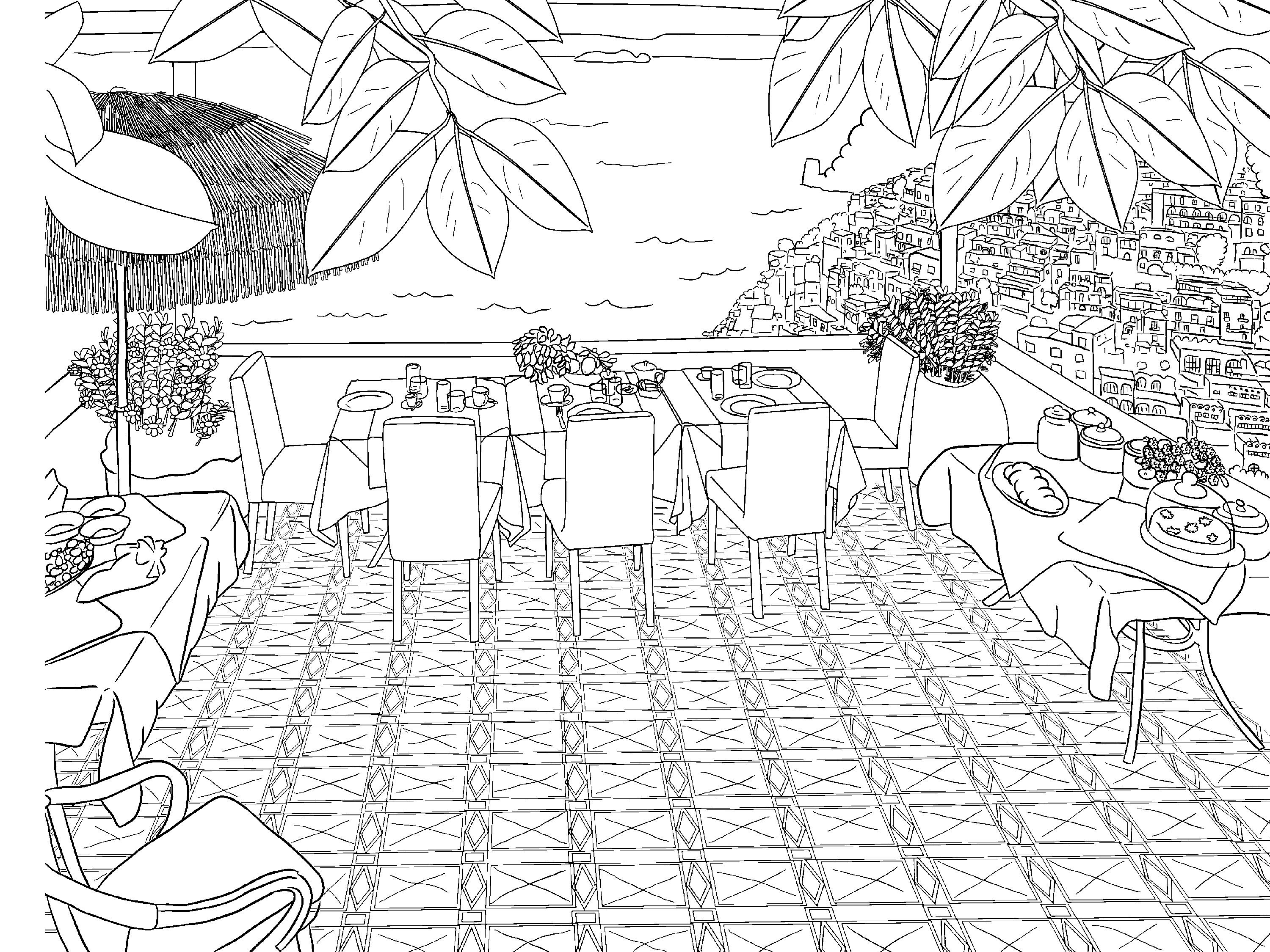coloring scenery for kids beautiful scenery colouring pages in the playroom scenery for coloring kids