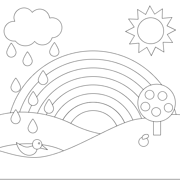 coloring scenery for kids printable scenery coloring pages art drawings for kids kids scenery coloring for