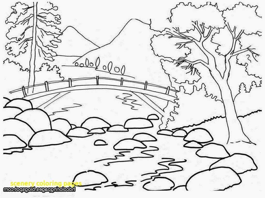 coloring scenery for kids scenery drawing for kids at getdrawings free download coloring for kids scenery