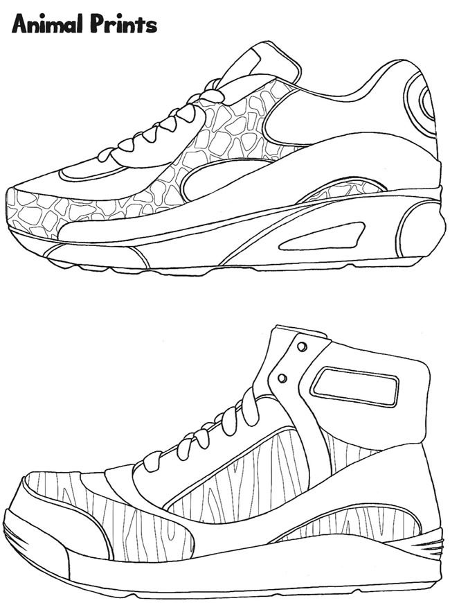 coloring school shoes adidas shoes drawing coloring pages coloring shoes school