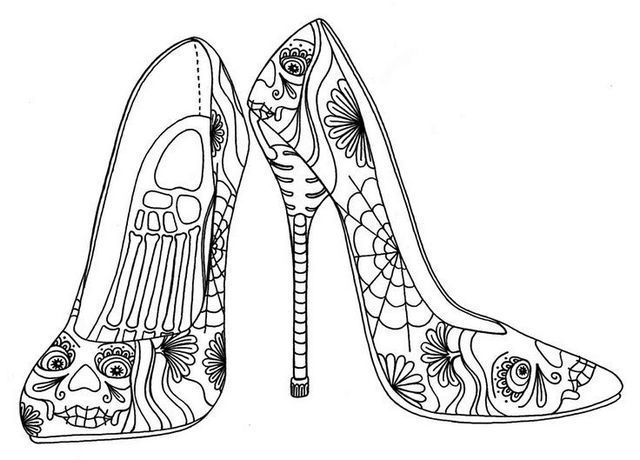 coloring school shoes baby shoe to color awww digi stamps pattern coloring coloring shoes school