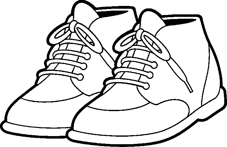 coloring school shoes shoes cliparts free download on clipartmag coloring shoes school