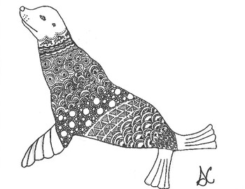 coloring seal leopard seal coloring page coloring sky seal coloring