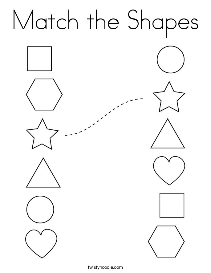 coloring shapes for kindergarten worksheets shape counting coloring page twisty noodle in 2020 kindergarten worksheets shapes for coloring