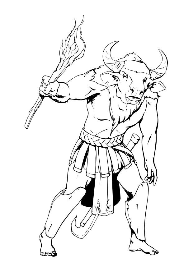 coloring sheet 4 coloring page coloring page minotaur free printable coloring pages coloring sheet coloring page 4