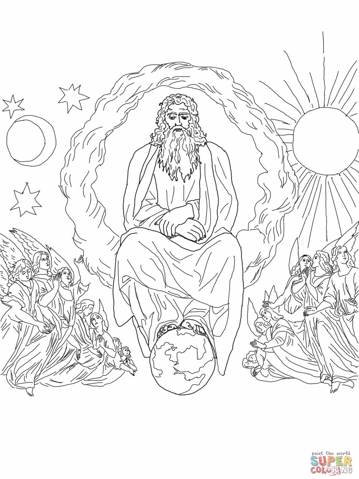 coloring sheet 7 days of creation coloring pages free day 1 creation worksheet for toddlers google search pages sheet of 7 coloring days free creation coloring