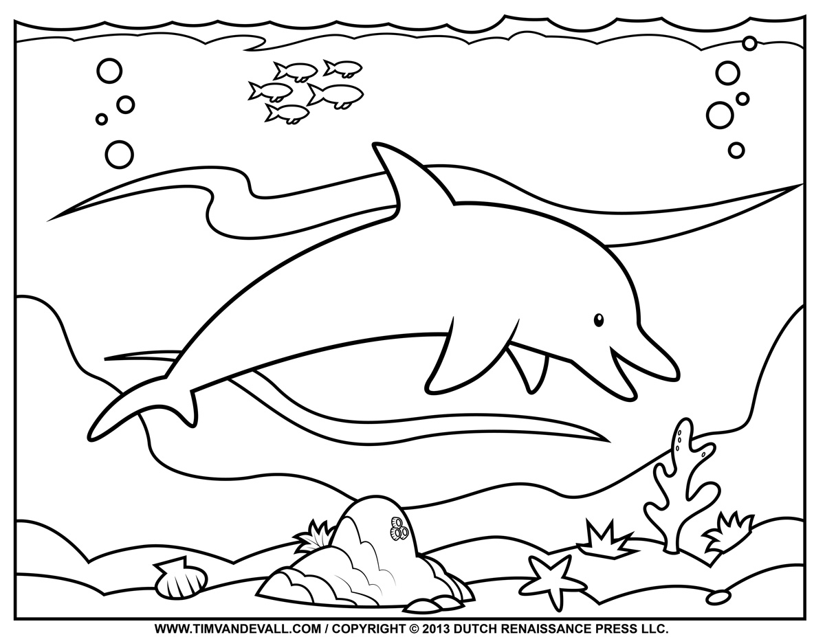 coloring sheet dolphin dolphin coloring pages coloringall sheet dolphin coloring