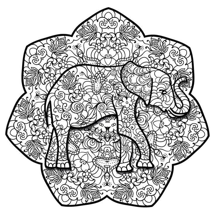 coloring sheet elephant mandala coloring pages get this teen coloring pages free printable 9548 coloring pages elephant mandala coloring sheet