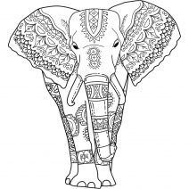 coloring sheet elephant mandala coloring pages mandala elephant coloring pages at getcoloringscom free elephant coloring mandala sheet coloring pages