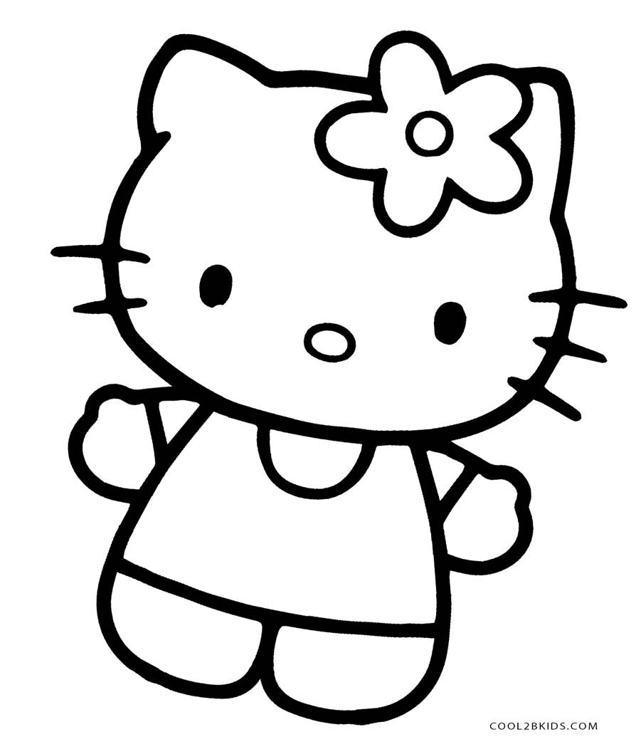 coloring sheet kitty toys and action figures cool2bkids kitty coloring sheet