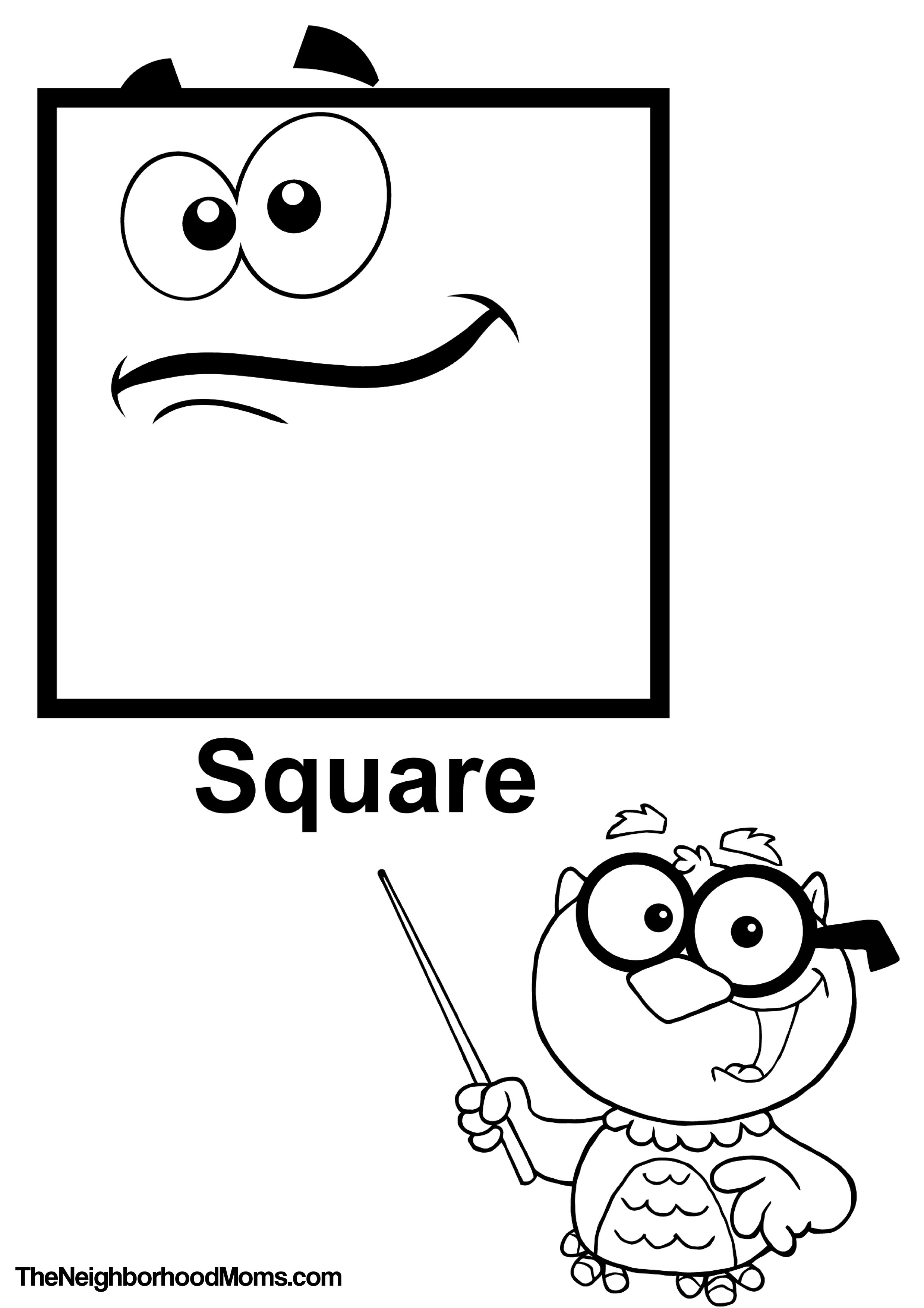 coloring sheet with shapes shapes coloring pages printable the neighborhood moms shapes coloring sheet with