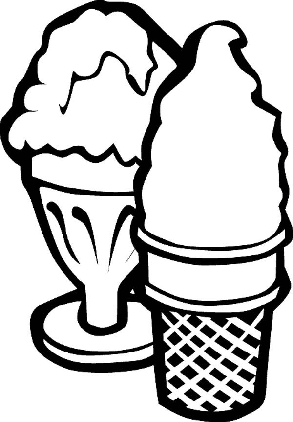 coloring sheets ice cream ice cream coloring pages the sun flower pages cream ice sheets coloring