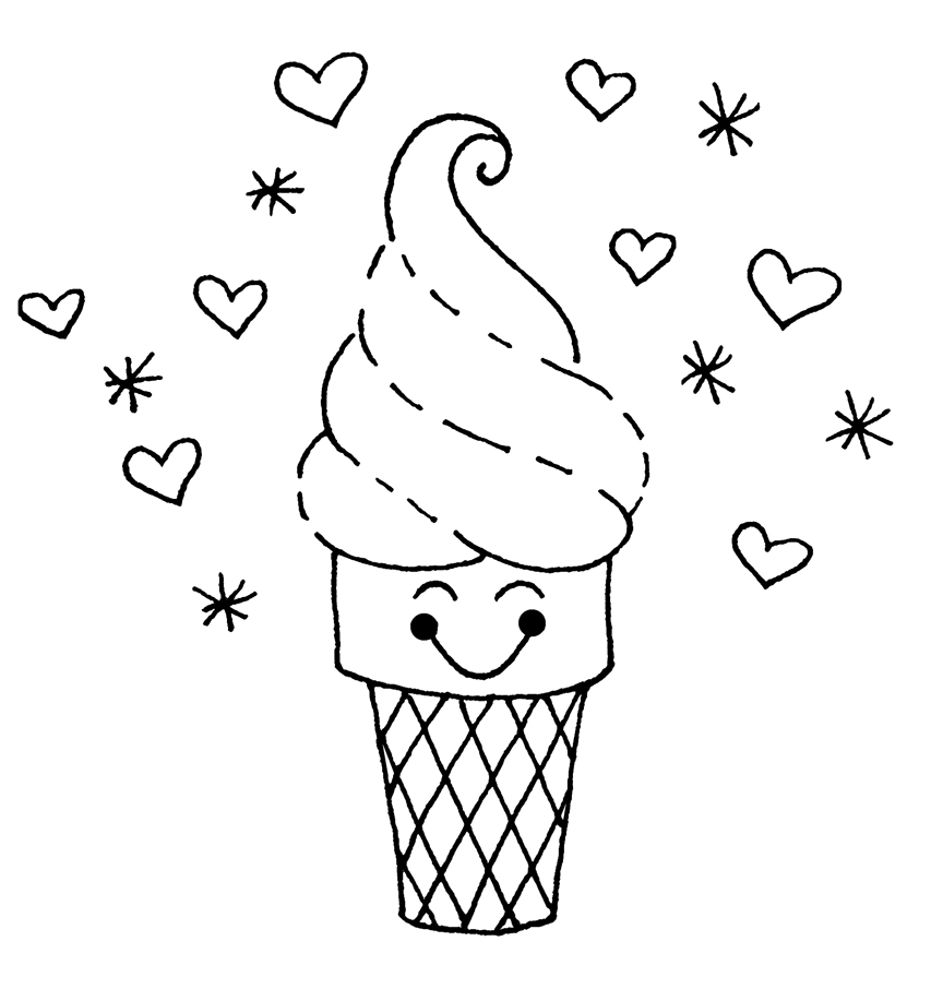 coloring sheets ice cream ice cream with cherry on top coloring page coloring sky sheets cream ice coloring