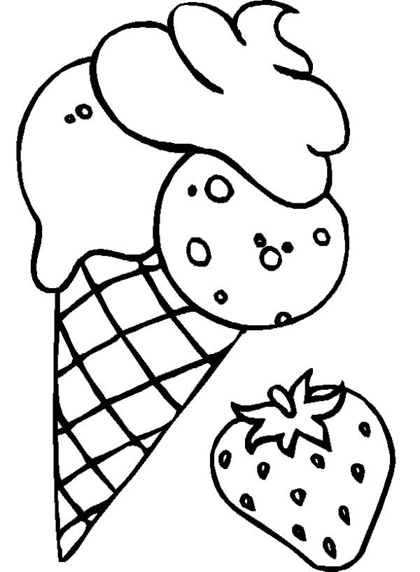 coloring sheets ice cream strawberry flavoured ice cream coloring page coloring sky sheets ice coloring cream