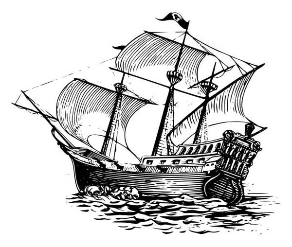 coloring ship pirate ship coloring pages ship drawing pirate ship coloring ship
