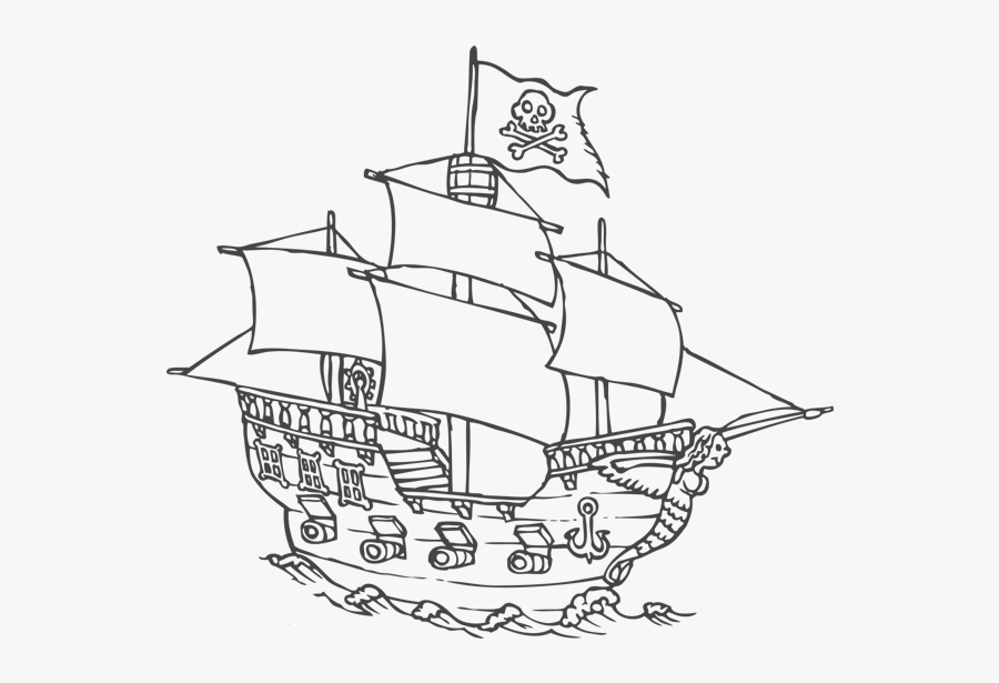 coloring ship pirate ship wall decal easy decals pirate ship printable ship coloring