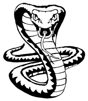 coloring snake clipart black and white king cobra snake drawings snake drawing cobra snake and coloring snake white black clipart