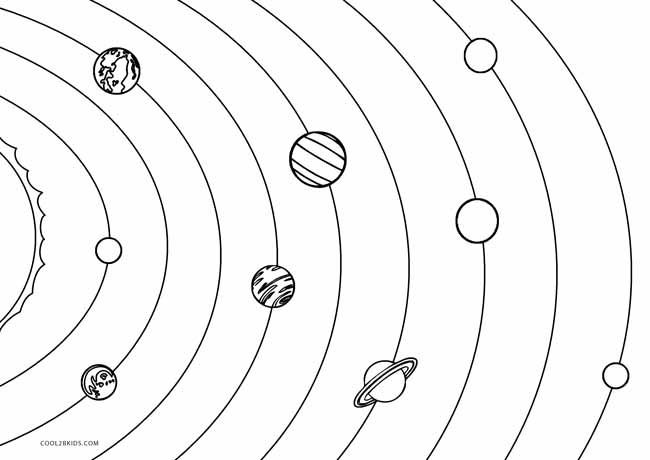 coloring solar system black and white printable solar system coloring sheets for kids coloring system black solar and white