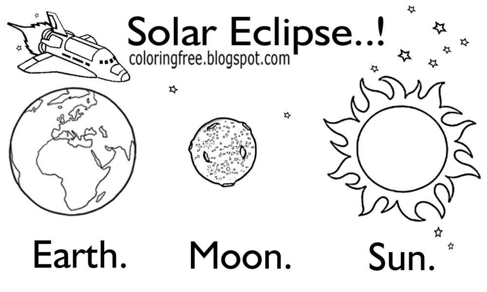 coloring solar system black and white solar system cartoon drawing at paintingvalleycom system and black coloring solar white