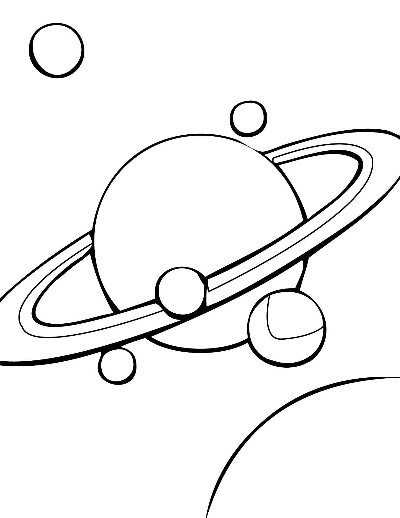 coloring solar system black and white solar system color page printable solar system coloring white black coloring solar system and