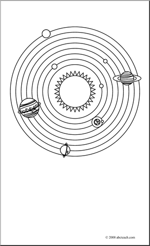 coloring solar system black and white solar system color pages coloring home black system and solar white coloring