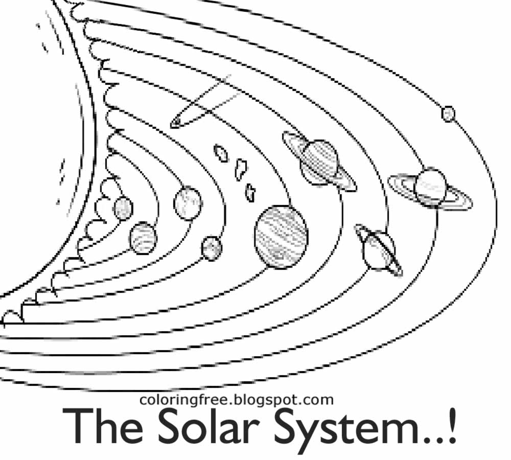 coloring solar system black and white solar system coloring pages printable archives for solar system and coloring solar white black